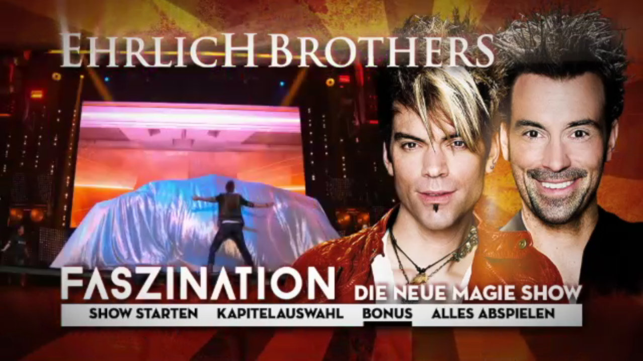 Propeller Mediaservice DVD Bluray Ehrlich Brothers Faszination