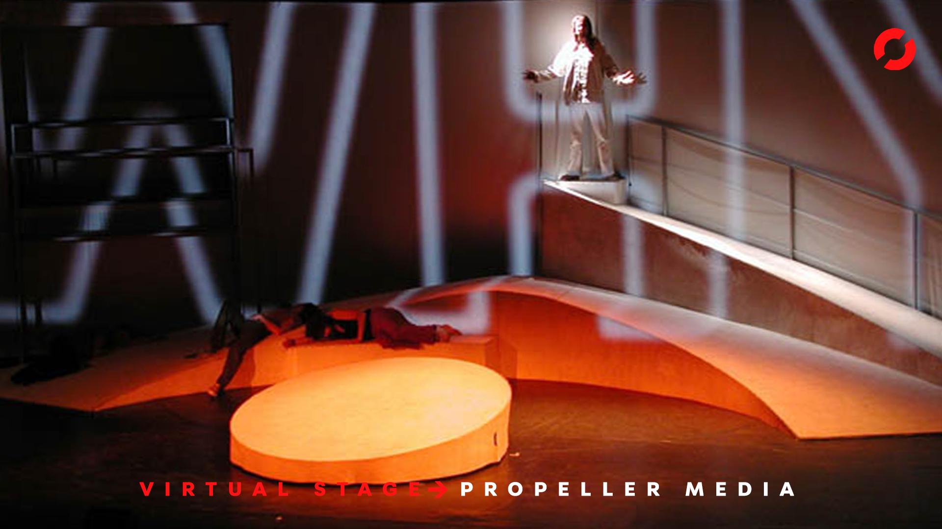 Propeller Mediaservice Show Jesus Christ Superstar Marc Hess